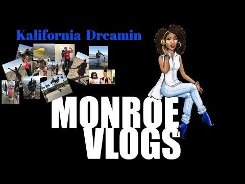 Monroe Vlogs | Ep 1| kalifornia dreamin |
