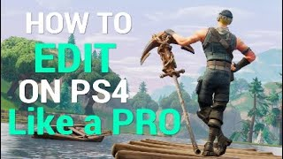 How To Make a Montage On Fortnite Like A PRO : SHAREfactory PS4