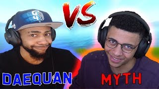 Myth VS Daequan In Solo Showdown (BOTH POV) | Fortnite Highlights & Funny Moments #80