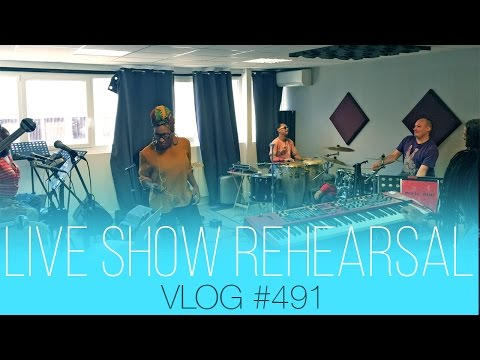 vlog #491 - Rehearsal for the Maputo Zouk festival...