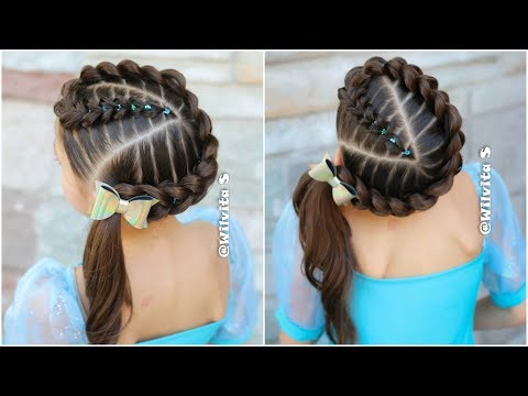 Peinados lindos en trenzas