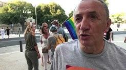 Première gay pride Nîmes