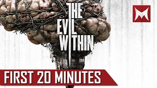 "The Evil Within Walkthrough - First 20 minutes - ""Evil Within Walkthrough"" Gameplay Walkthrough HD"