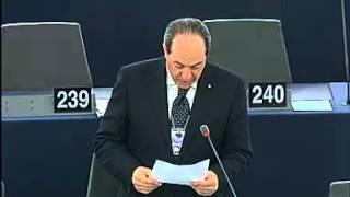 Paolo de Castro, presidente della Commissione Agricoltura del Parlamento Europeo, interviene nel dibattito sull'importazione di carni bovine di alta qualità