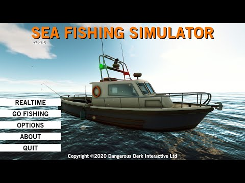 Sea Fishing Simulator First Look