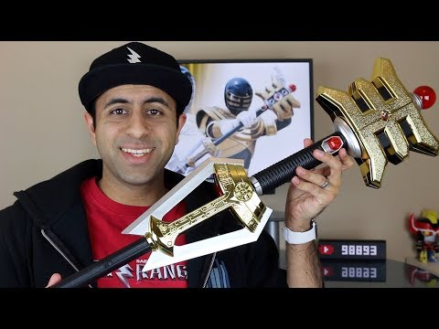 Legacy Collection Golden Power Staff Unboxing/Review [Power Rangers Zeo]