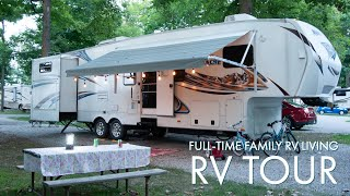 Gambar cover Big Family RV Tour: How we live and travel in our RV Full time with 6 people!