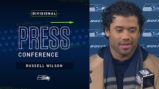 Russell Wilson Postgame Press Conference at Packers | 2019 Seattle Seahawks