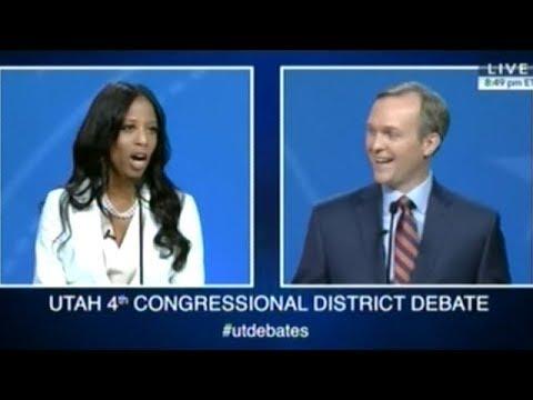 MIA LOVE vs BEN McADAMS Debate Utah U.S. House Of Representatives Seat