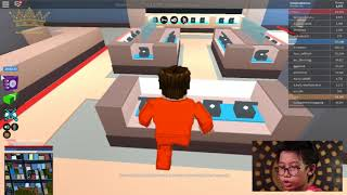 ROBLOX JAILBREAK MY FIRST VIDEO KEN JAVAS BARUNA
