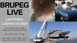 Brupeg Live (last live feed of 2019) this is the best feed if you're in Aussie/NZ/USA or Oh Canada