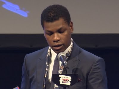 'Star Wars' Actor John Boyega Delivers Emotional Speech During ...