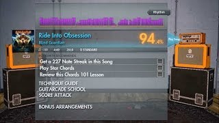 Blind Guardian - Ride Into Obsession CDLC (Rhythm) Rocksmith 2014