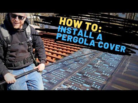 How To Install A Pergola Cover – Regal Plastics Hercules System