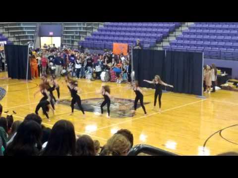 Hallsville Halloween belle dance