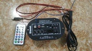 Mạch USB/FM/TF/BLUETOOTH kiêm khuếch đại âm thanh class D mới (Ngừng Bán)