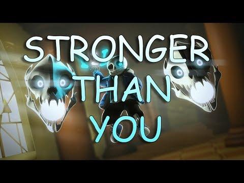 [SFM UNDERTALE] Stronger Than You Short