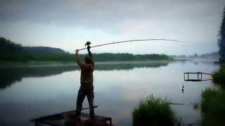 видео База отдыха с рыбалкой в Подмосковье