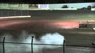 Kennedale Speedway Park Factory Stock Crash