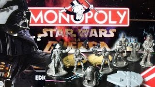 STAR WARS MONOPOLY 1997 Limited 20Th Anniversary Edition
