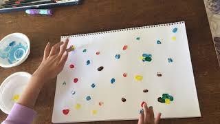 초등학생 취미생활/아동미술/- 핑거페인팅,두들아트