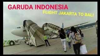Business Class (Back) Garuda Indonesia - Besar Gini Gel Pesawat - Flight Jakarta to Bali