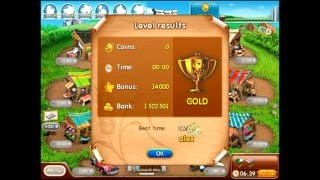 Farm frenzy 2 only GOLD (level 81) Fan street 4 Веселая ферма 2 Веерная 4 (уровень 81) Золото