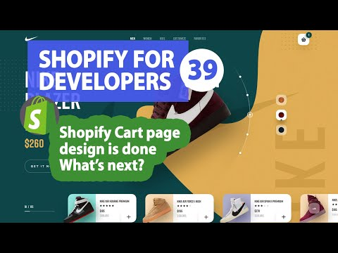 39 - Shopify Cart Page Design Done, What's next ? thumbnail