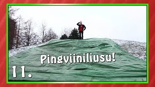 PINGVIINILIUSU! | Haastekalenteri 2017 Luukku 11