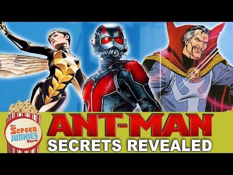 AntMan Secrets Revealed  Wasp, Dr. Strange & More!