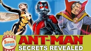 Ant-Man Secrets Revealed - Wasp, Dr. Strange & More!