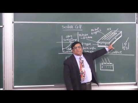 PHY-XII-14  Solar Cell (2016) Pradeep Kshetrapal Physics