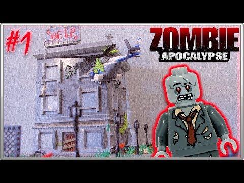 LEGO Самоделка - Зомби Апокалипсис #1 / LEGO Zombie Apocalipsis MOC