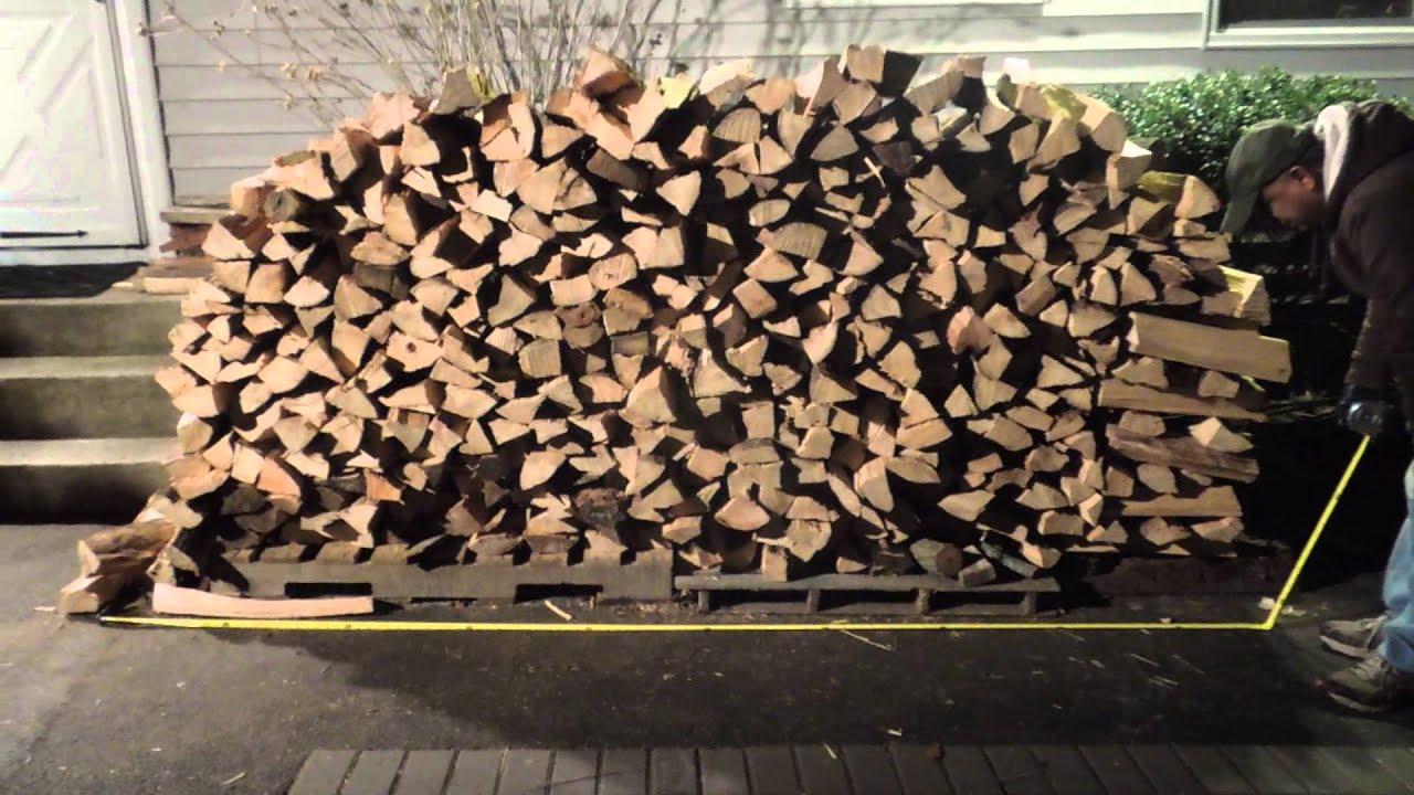 Cord of wood youtube