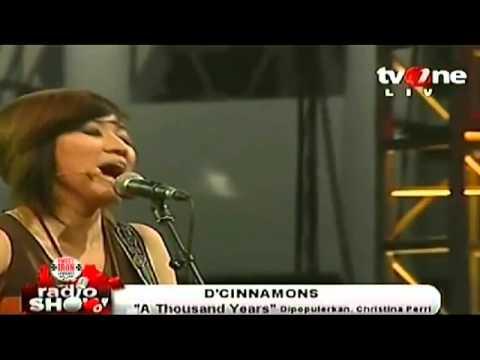 D'Cinnamons - A Thousand Years (Cover).avi