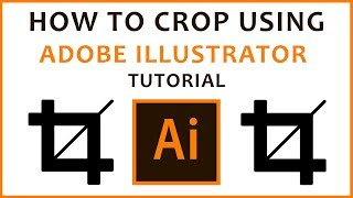 How to Crop Imąges in Adobe Illustrator