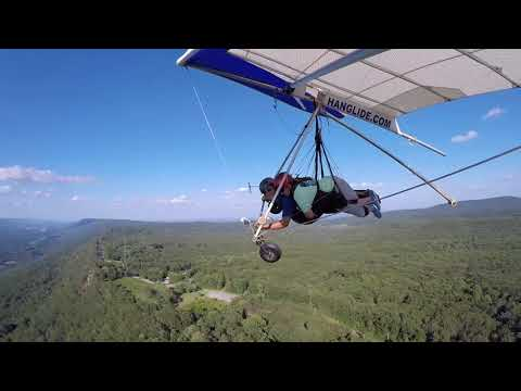 Dixie Arnold's Hang Gliding Tandem at Lookout Mountain