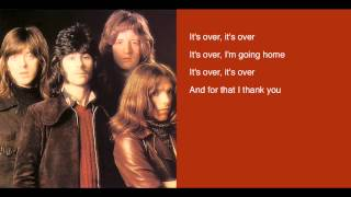 Badfinger - Its Over - lyrics - Straight Up LP YouTube Videos