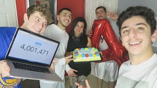 4,000,000 SUBSCRIBERS CELEBRATION!!!