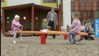 Privātās - publiskās partnerības projektā atklāj bērnudārzu