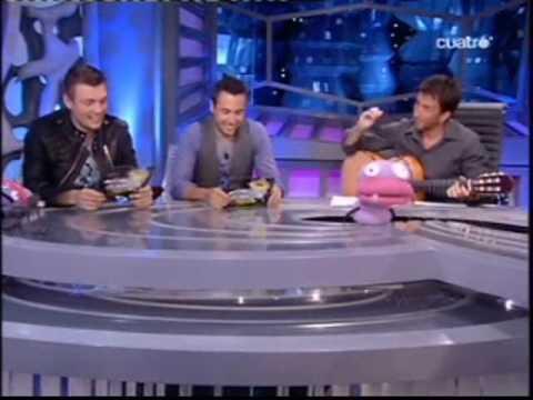 Backstreet Boys en el Hormiguero 3