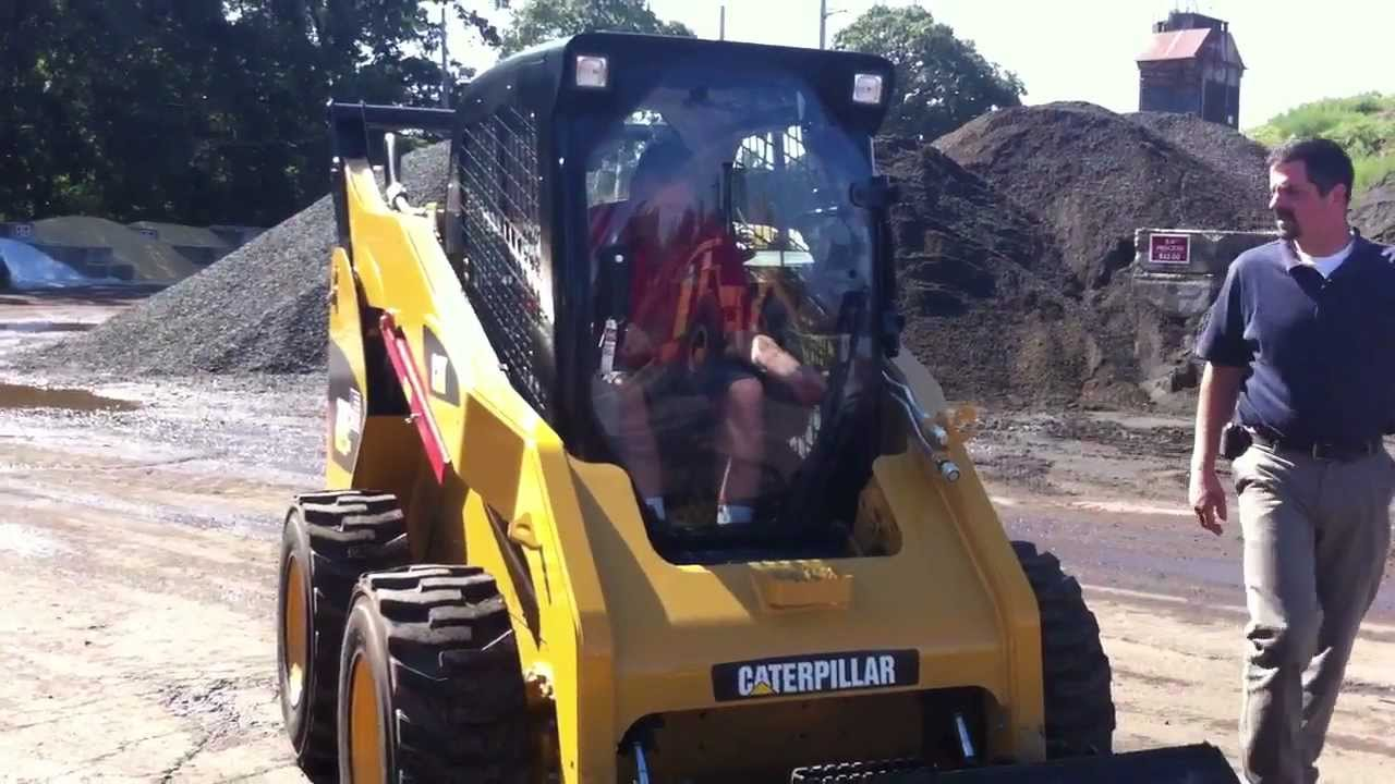 Brand New Cat 262 C Skid Steer Tutorial