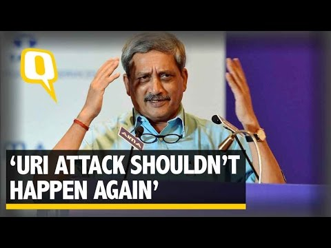 The Quint: Something Went Wrong in The Uri Incident: Manohar Parrikar