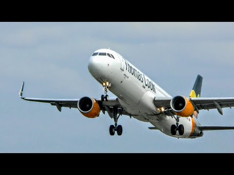 *NEW* Thomas Cook Airlines Airbus A321 at Leeds Bradford Int'l Airport, LBA | 17/05/2018