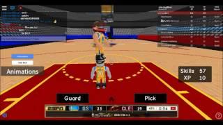 Finales de la NBA Roblox parte 3