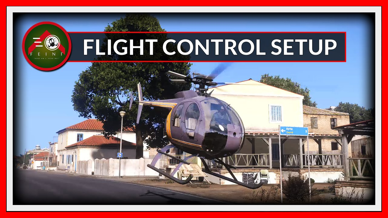 Flight Control Joystick Setup - Advanced [ARMA 3]