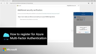 How to register for Azure Multi-Factor Authentication