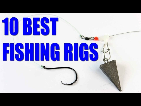 Fishing Rigs -  Bait Fishing Rigs For Catfish, Bass, Trout - How To Fish