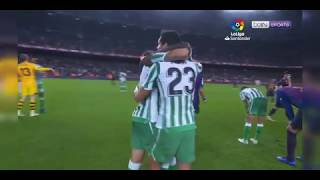Cuplikan Goals Real Betis vs Barcelona (3-4) All Goals | VAR Goal