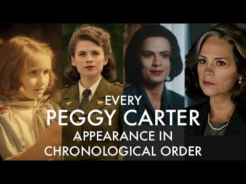 Download Every Peggy Carter Appearance in Chronological Order (MCU)